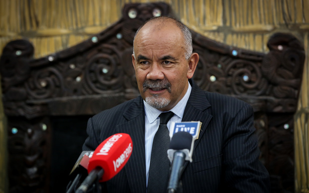 Leader of the Maori Party, Te Ururoa Flavell.