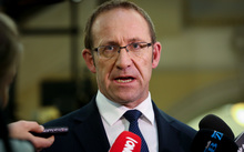 Labour Party Leader, Andrew Little.