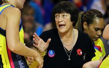 Former Silver Ferns assistant coach Robyn Broughton