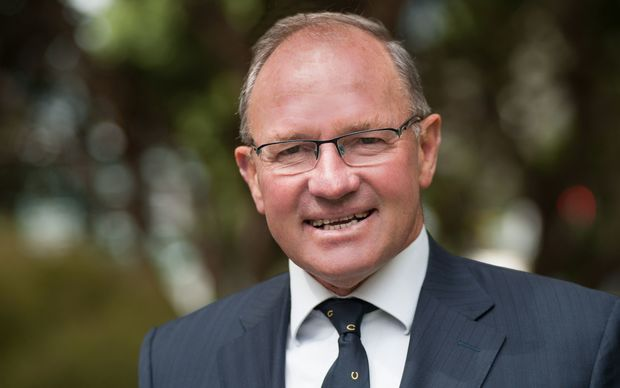 Ian McKelvie, MP for Rangitikei