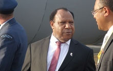The PNG Foreign Minister Rimbink Pato