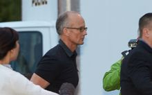Dentist and trophy hunter Dr. Walter Palmer walks into his clinic.