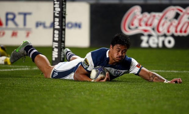 Ben Lam scores for Auckland 2015