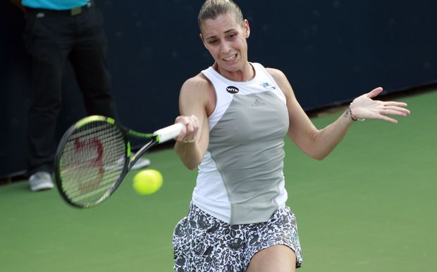 Italian tennis player Flavia Pennetta