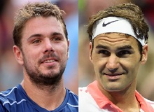 Stan Wawrinka and Roger Federer.