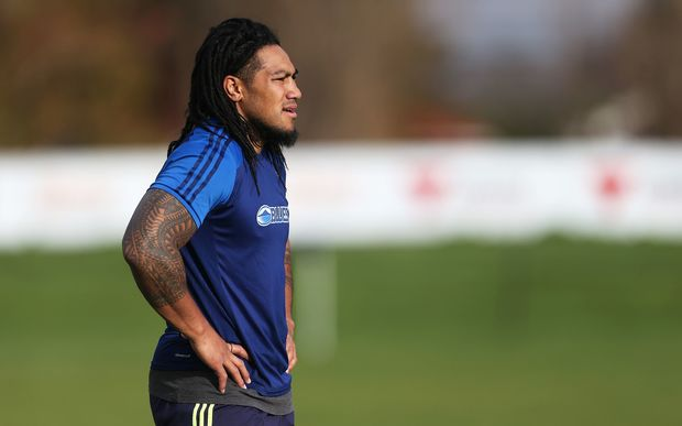 All Blacks midfielder Ma'a Nonu