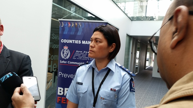Counties Manukau Central area commander Inspector Julia Lynch