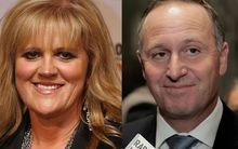 Julie Christie and John Key