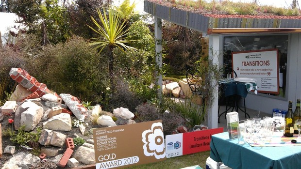 The Transitions garden won the Supreme Award for Horticultural Excellence.