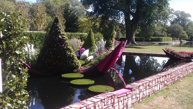 The Ellerslie International Flower Show at North Hagley Park features more than 80 horticultural exhibits.