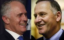 Malcolm Turnbull, John Key compilation.