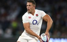 England rugby international Sam Burgess.