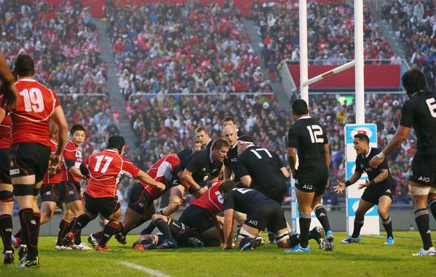 All Blacks to play test match in Japan in 2018