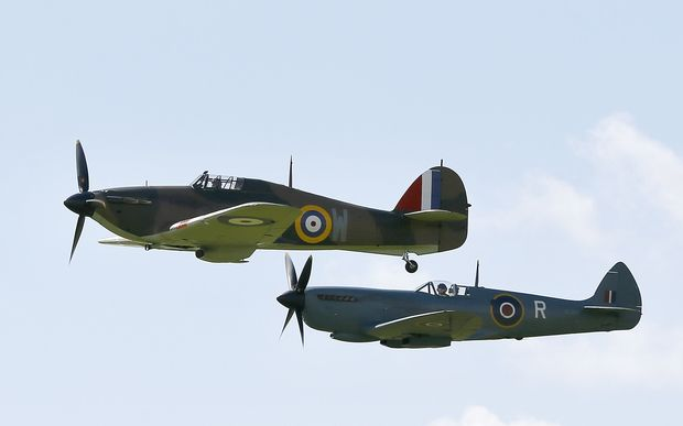 Historic flypast for Battle of Britain anniversary | RNZ News