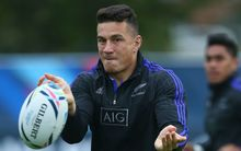 All Black midfielder Sonny Bill Williams