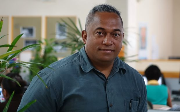 Fred Wesley, Editor of the Fiji Times