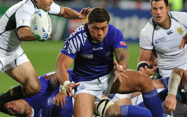 Mahonri Schwalger last played for Samoa at the 2011 Rugby World Cup.