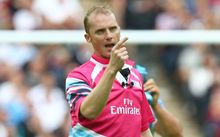 English referee Wayne Barnes RWC2015.
