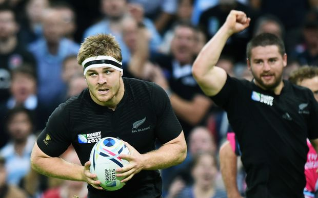 All Black flanker Sam Cane RWC2015