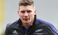 The All Blacks first-five come utility Colin Slade.