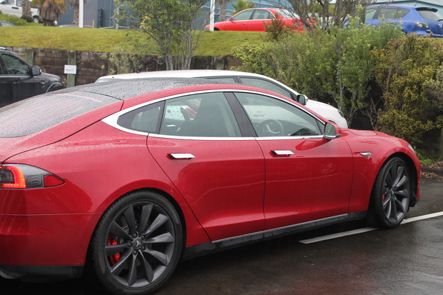 This is an image of Steve West's second Tesla