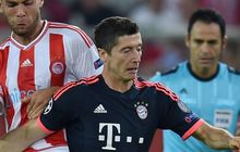 Bayern Munich striker Robert Lewandowski