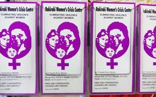Pamphlets for the Rakiraki Women's crisis centre. Sep 2015