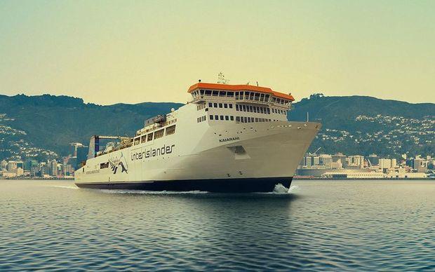 Kaiarahi, the new Interislander ferry.