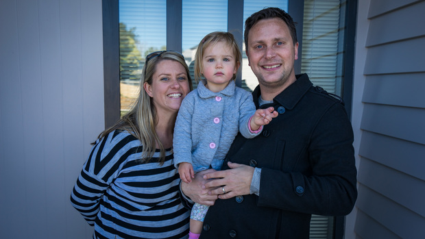 Heather and Sebastiaan Boer have recently bought a house in the Waimahia Inlet development.