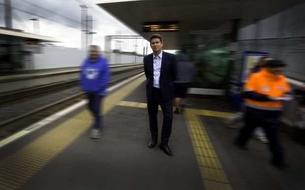 John Campbell at Manurewa Train Station.