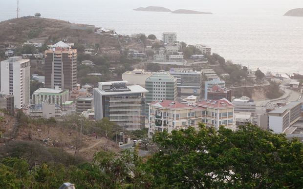 Port Moresby CBD.