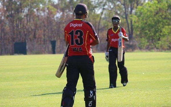 PNG have begun the defence of their South Australian Cricket League title.