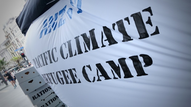 ANZ Climate change protest
