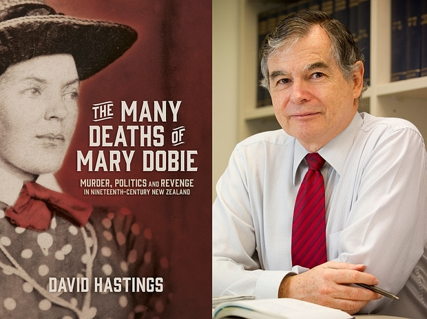 The Many Deaths of Mary Dobie and author David Hastings