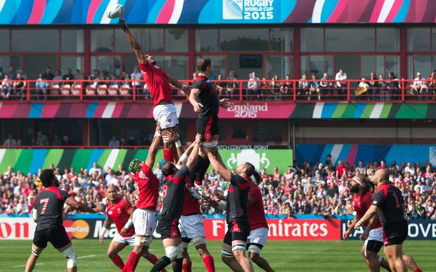 The 'Ikale Tahi were stunned by Georgia in their 2015 Rugby World Cup opener.