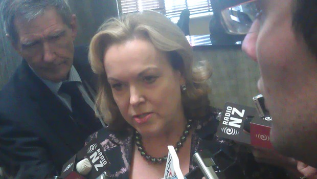 Judith Collins' office initially sought a briefing from the Ministry of Foreign Affairs and Trade.