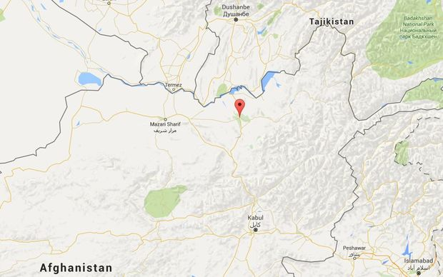 Kunduz - marked with a red point - is both strategically and symbolically important for the Taliban.