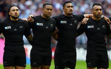 Ma'a Nonu, Julian Savea, Jerome Kaino and Victor Vito.
