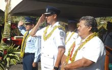Samoa Minister of Police, and Police Commissioners from Samoa and Cook Islands.