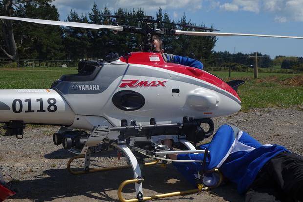 Super-drone sprayer comes with risks | RNZ News