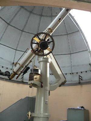 Rare telescope's crucial lens survives quake collapse ...