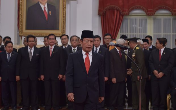 Sutiyoso, the chair of Indonesia's State Intelligence Agency.