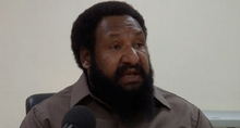 Papua New Guinea opposition leader Don Polye.