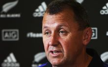 The All Blacks aren't doing grumpy at the Rugby World Cup says Ian Foster.
