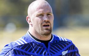 The All Blacks prop Ben Franks.