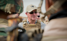 Key talks with Iraqi troops and the New Zealand trainers.