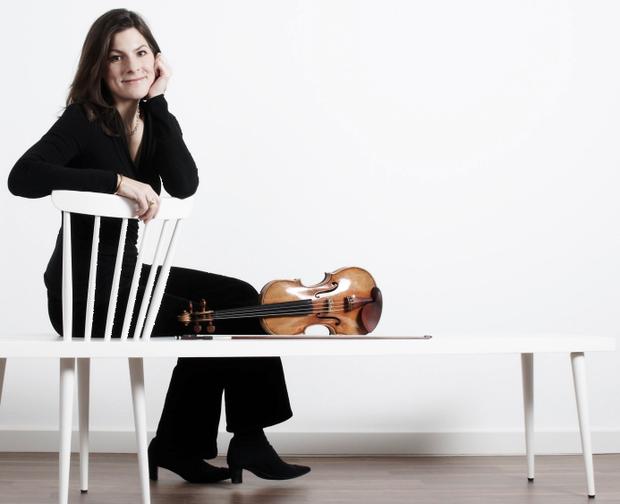 Violinist Elizabeth Kufferath