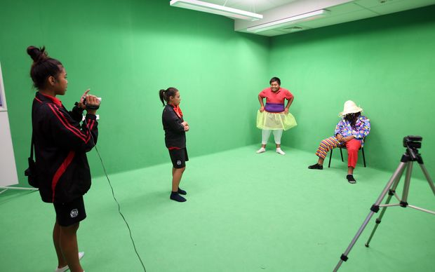 Pt England School kids create a short digital film for the Annual Film Festival