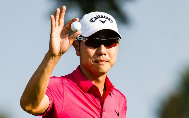 South Korean golfer Sangmoon Bae