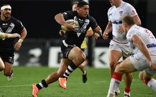 Jason Taumalolo in action for the Kiwis